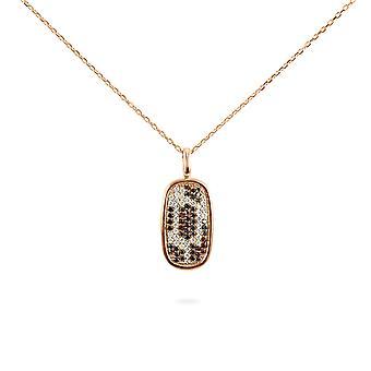 Kaulakoru Leopard Precious Stones, Timantit ja 18K Kultaa
