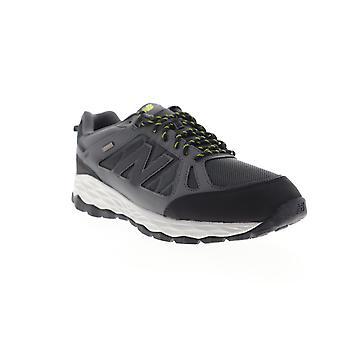 New Balance 1350  Mens Gray Nylon Leather Lace Up Athletic Walking Shoes