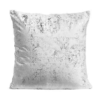 Elegant printed bronzing velvet pillowcase Polyester square pillowcase for sofa and bed 45x45cm