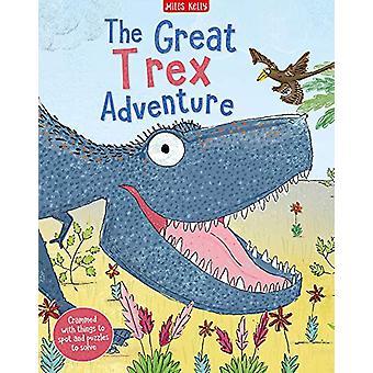 The Great T rex Adventure av Camilla de la Bedoyere - 9781786178329 B