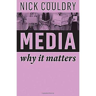 Media - Why It Matters by Nick Couldry - 9781509515141 Book