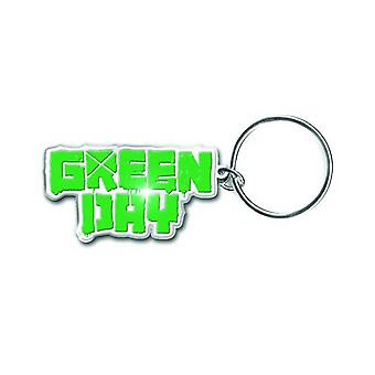 Green Day Keyring Keychain Band Logo american idiot new Official metal