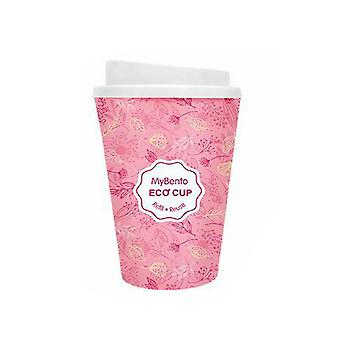 Summit MyBento Double Wall Plastic Mug Coffee Tea Travel Outdoor - Pink