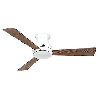DC ceiling fan Eco Pallas WH 116 Oak / Walnut