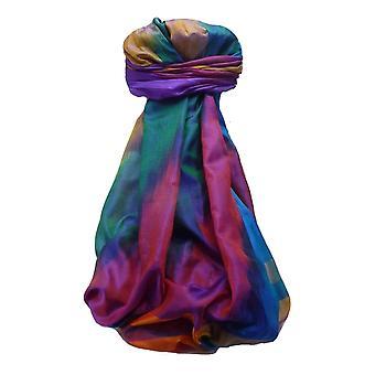 Varanasi Ekal Premium Silk Long Scarf Heritage Range Rai 9 by Pashmina & Silk
