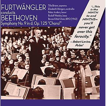 L.V. Beethoven - Furtw Ngler Conducts Beethoven: Symphony No. 9 in D, Op. 125 Choral [CD] USA import