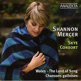 Shannon Mercer - Wales: The Land of Song [CD] USA import