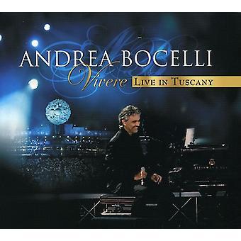 Andrea Bocelli - Vivere: Live in Tuscany [CD] USA import