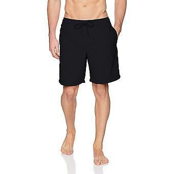 """Essentials Men's Quick-Dry 9"""" Swim Trunk, Sort, Medium"""