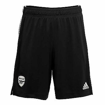 2020-2021 Arsenal Adidas Home Goalkeeper Shorts (Noir)