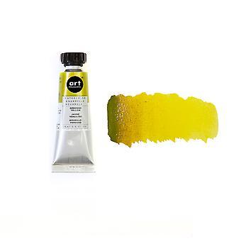 アート哲学 水彩管 緑黄色