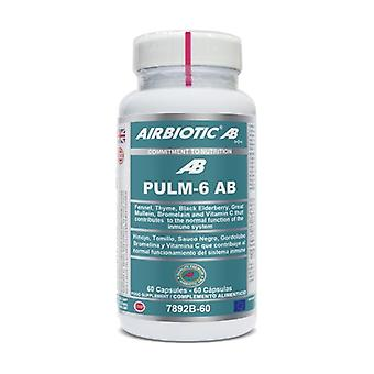 كبسولات PULM-6 AB 60