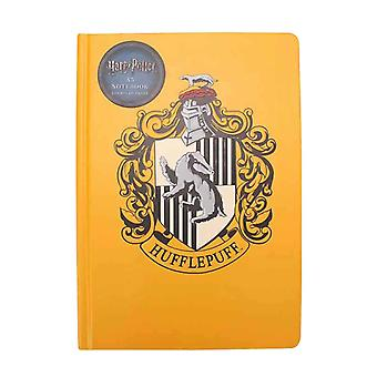 Harry Potter Notebook Hufflepuff House Crest new Official 240 Pages A5 Yellow