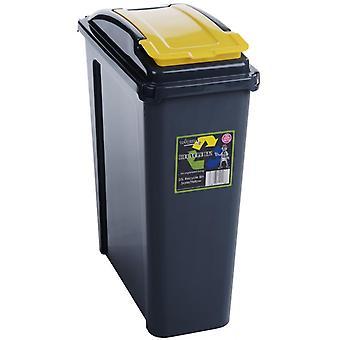 Wham Slimline Plastic Recycling Bin