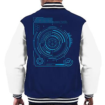 The Crystal Maze Colour Display Men's Varsity Jacket