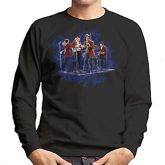 TV Times The Kinks Perfoming Live Men's Sweatshirt