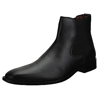 London Brogues Parker Mens Chelsea Boots in Black