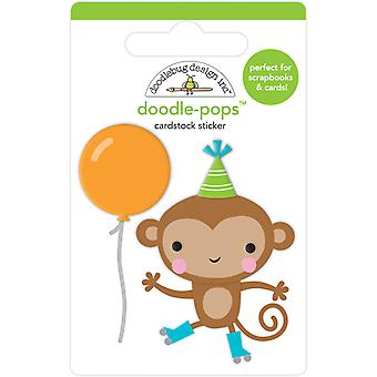 Doodlebug Design Monkey Business Doodle-Pops