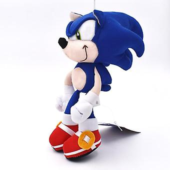 Sonic Boom Cartoon Pp Cotton Soft Blue Plush