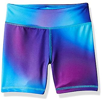Essentials Big Girls' Stretch Active Short, Ombre Purple, L