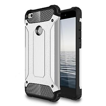 Shell para Huawei Y6II / Honor 5A Silver Armor Protection Case Hard
