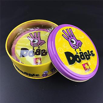 83mm Dobble Kid Box Spot It Game Card- Basic English Version On Road Holidays