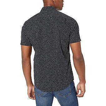 Essentials Men's Slim-Fit Short-Sleeve Print Shirt, Small Floral, XX-L...