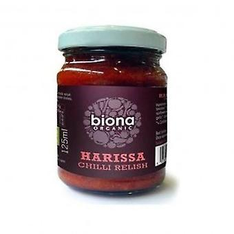 Biona - Org Harrissa Chilli Relish 125g