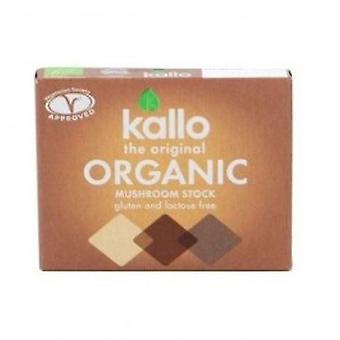 Kallo - Mushroom Stock Cubes 66g