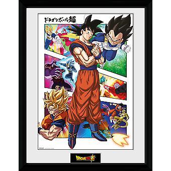 Dragon Ball Super Panels Collector Print
