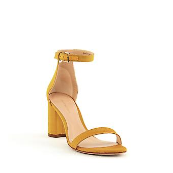 Stuart Weitzman | Less Nudist Block Heel Sandals
