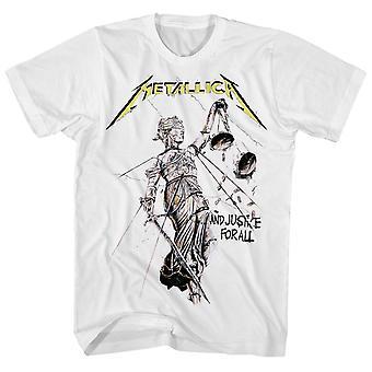Metallica T Shirt Justice For All Album Art Metallica Shirt