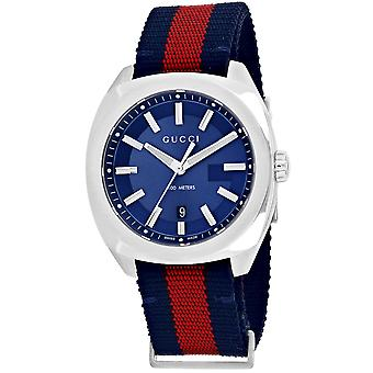 Gucci Men's GG2570 Blue Dial Watch - YA142304