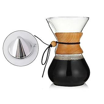 Resistant Glass Coffee Maker , Coffee Pot - Espresso Coffee Machine With