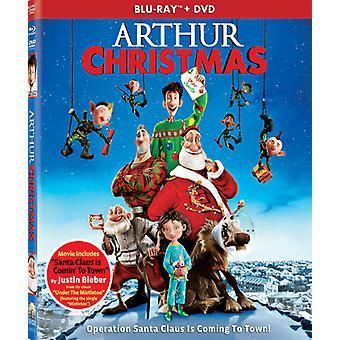 Arthur Christmas [BLU-RAY] USA importerer