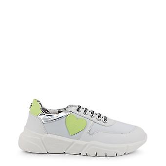 Amore moschino ja15203 women's sneakers in tessuto sintetico in pelle