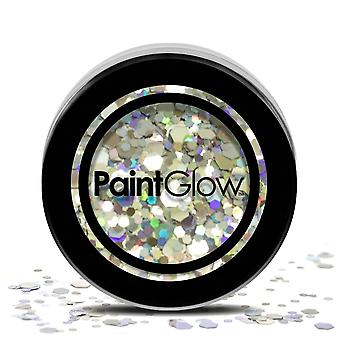 PaintGlow (chgr03) Chunky Cosmetic Glitter: Disco Fever 3g