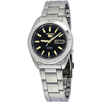 Seiko 5 Gent Watch SNKM67K1 - Stainless Steel Gents Automatic Analogue