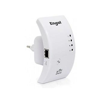 Engel PW3000 2.4 GHz 54 Mbps vit Wifi Repeater
