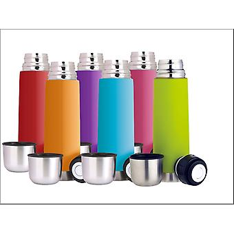 Kitchen Craft Soft Touch Flask Assorted CWVF500DISP