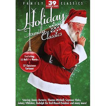 Holiday Family Classics [DVD] USA import