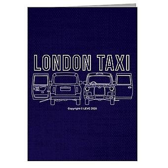 London Taxi Company TX4 Open Door Greeting Card