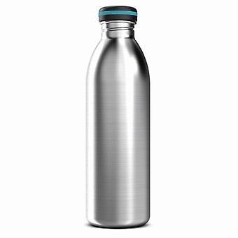Eine einzige Wand Stahl 750ml / 25oz Edelstahl Flasche