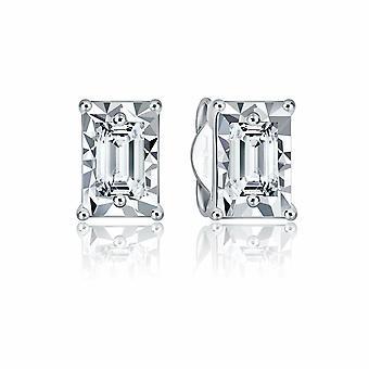 Baguette Solitare Diamond Earring