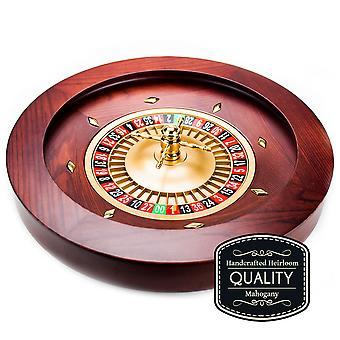 """18"""" Casino Grade Deluxe Drewniane Ruletka Koło"""