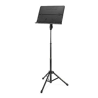 Hercules bs408b 3- section orchestra stand folding desk