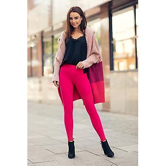 Womens High Waist Winter Cotton Pant With Fleece Lwpp28