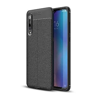 Phone Case Leather TPU Phone Protection Cover Simple Lightweight Mobile Phone Protector for Xiaomi 9