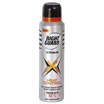 Garde droite Anti Perspirant Xtreme Heat Control 150ml x6