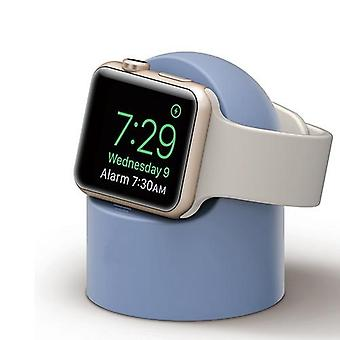 Charger Stand For Apple Watch Silicone Holder Accessory